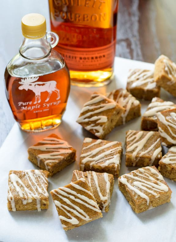 https://www.wellplated.com/wp-content/uploads/2014/10/Maple-Brown-Sugar-Bourbon-Bars-with-Brown-Butter-and-Bourbon-Glaze.jpg