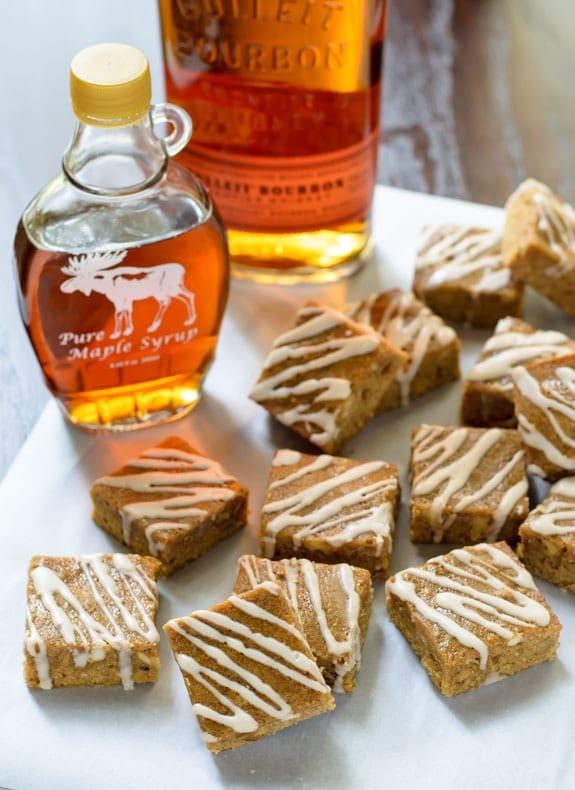 https://cdn2.wellplated.com/wp-content/uploads/2014/10/Maple-Brown-Sugar-Bourbon-Bars-with-Brown-Butter-and-Bourbon-Glaze.jpg