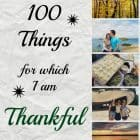 100 Things for Which I am Thankful 2014