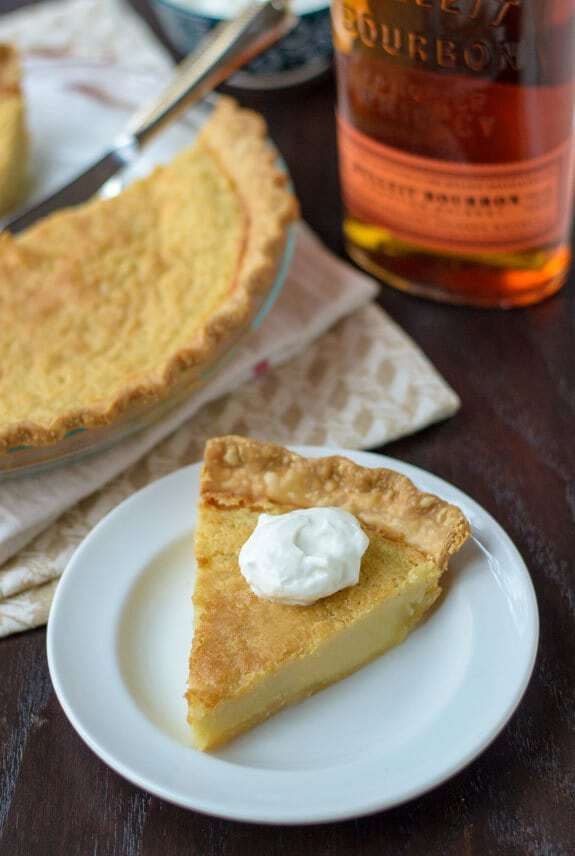 Bourbon Buttermilk Pie