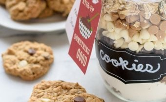 Cookie Mix in a Jar: Triple Chip Oatmeal Cookies