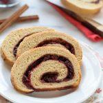 Cranberry Cinnamon Swirl Bread