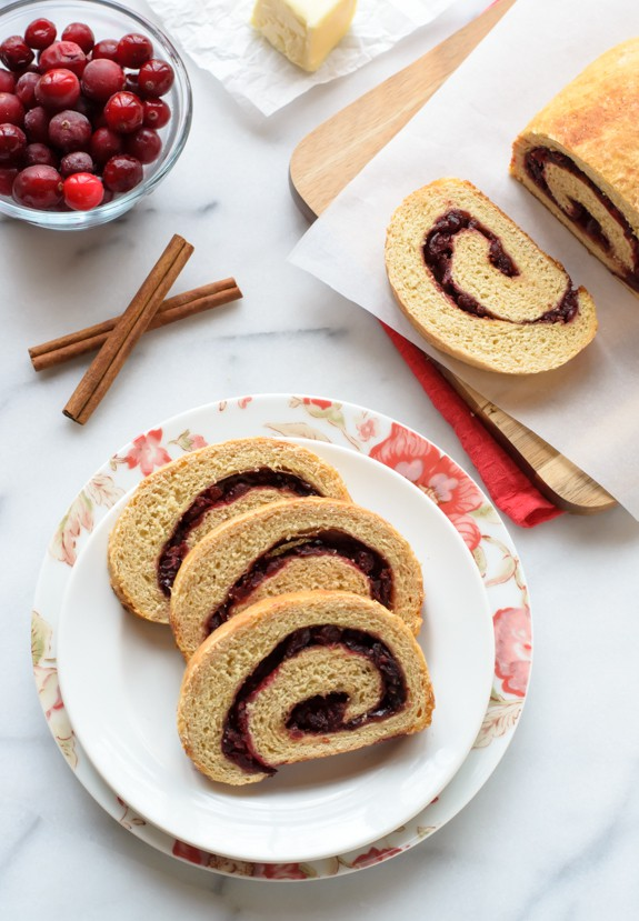 Cranberry Orange Cinnamon Swirl Bread. The best for toast and French toast!