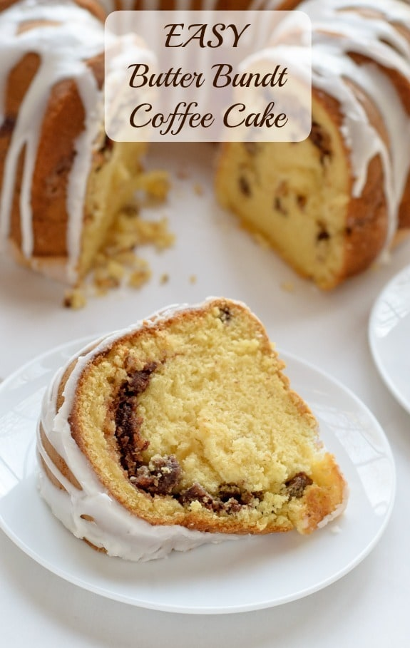 Easy Butter Bundt Coffee Cake