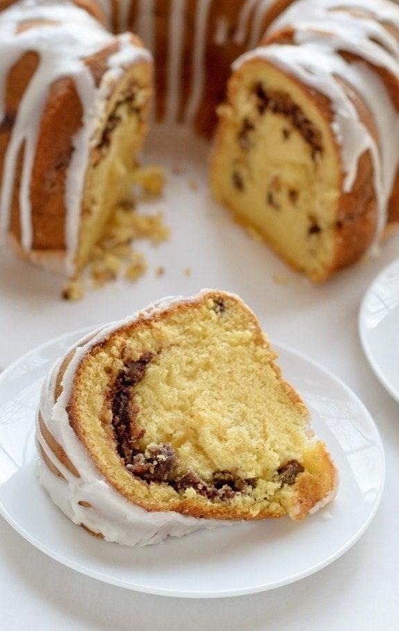 Bundt Coffee Cake Made With Yellow Cake Mix