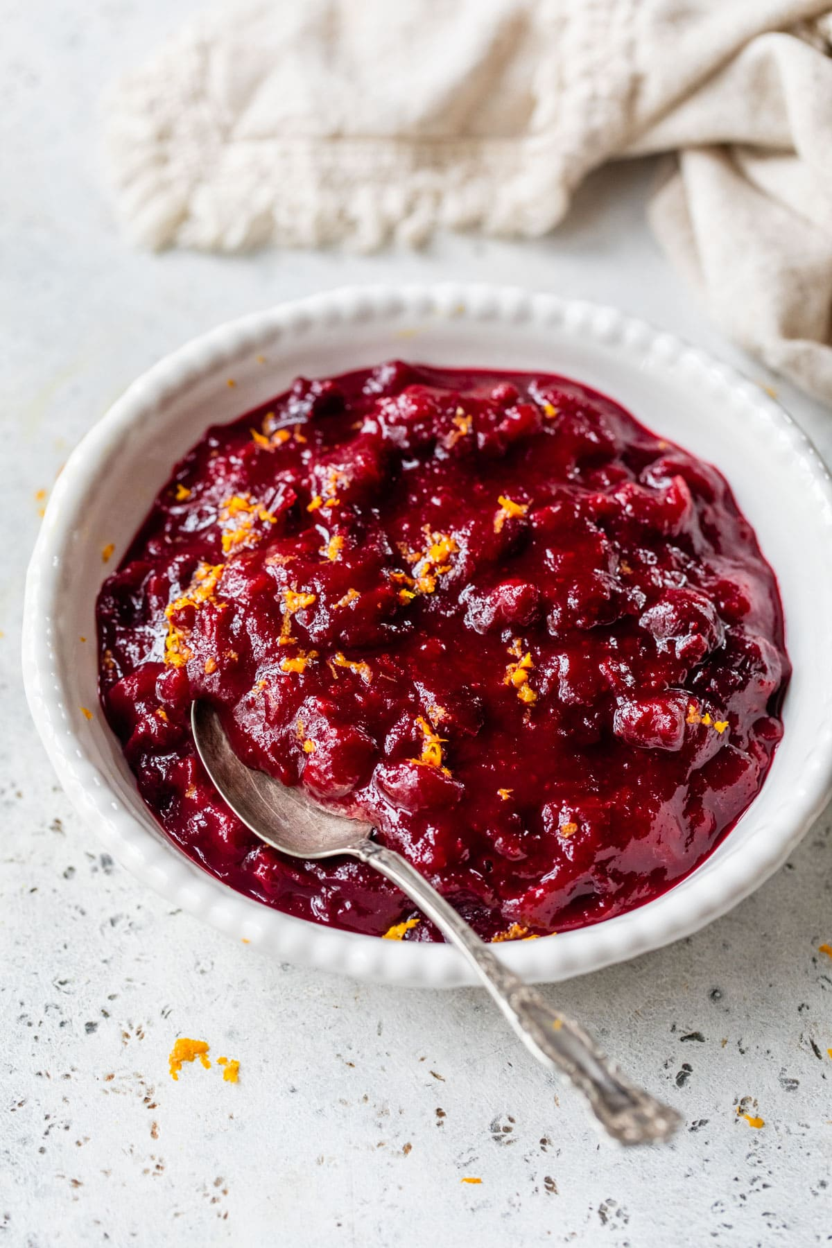 Easy Homemade Cranberry Orange Sauce