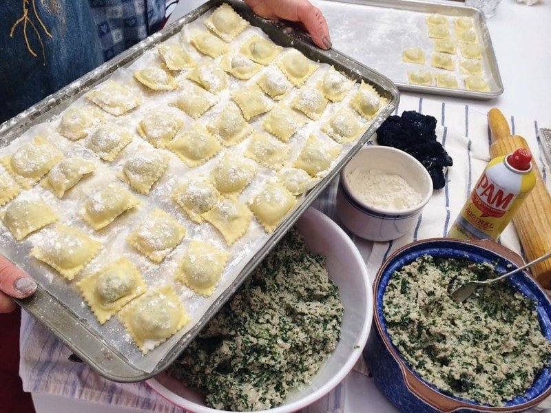 Homemade Ravioli From Nonna Wellplated Com