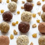 Golden Raisin Energy Bites. Perfect for a snack but sweet enough for dessert!