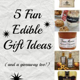 5 Fun Edible Gift Ideas