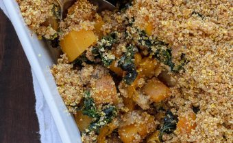 Butternut Squash Casserole with Sausage