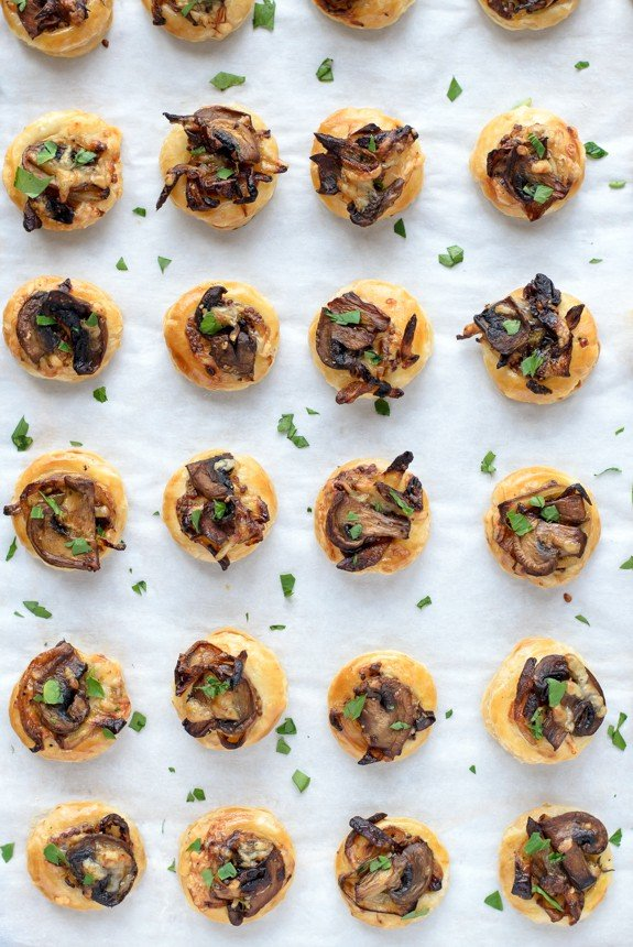 Caramelized Mushroom And Onion Biscuits Recipes — Dishmaps