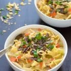Easy Healthy Creamy Chicken Noodle Soup