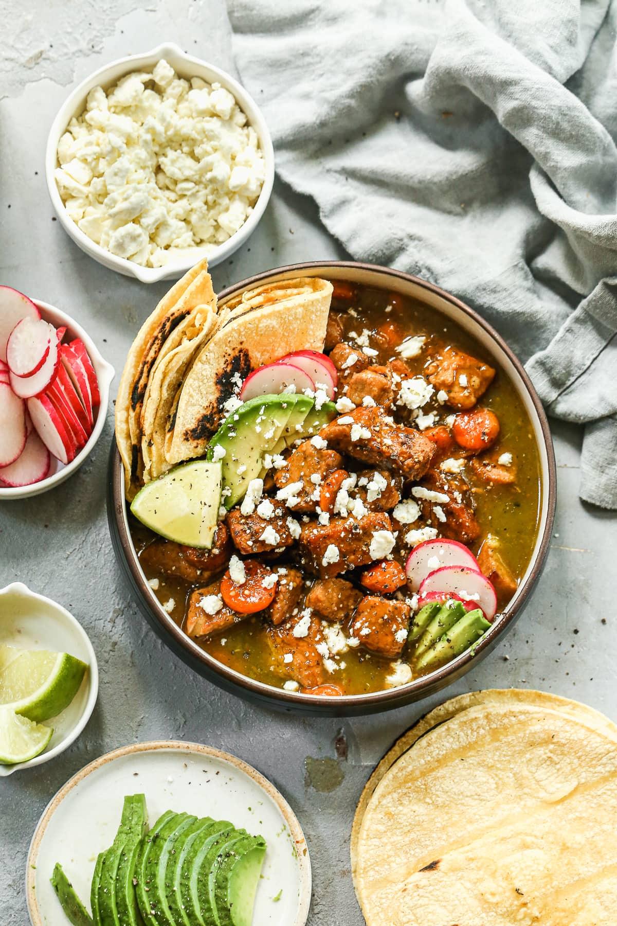 Salsa Verde Pulled Pork {Easy Slow Cooker Pulled Pork}