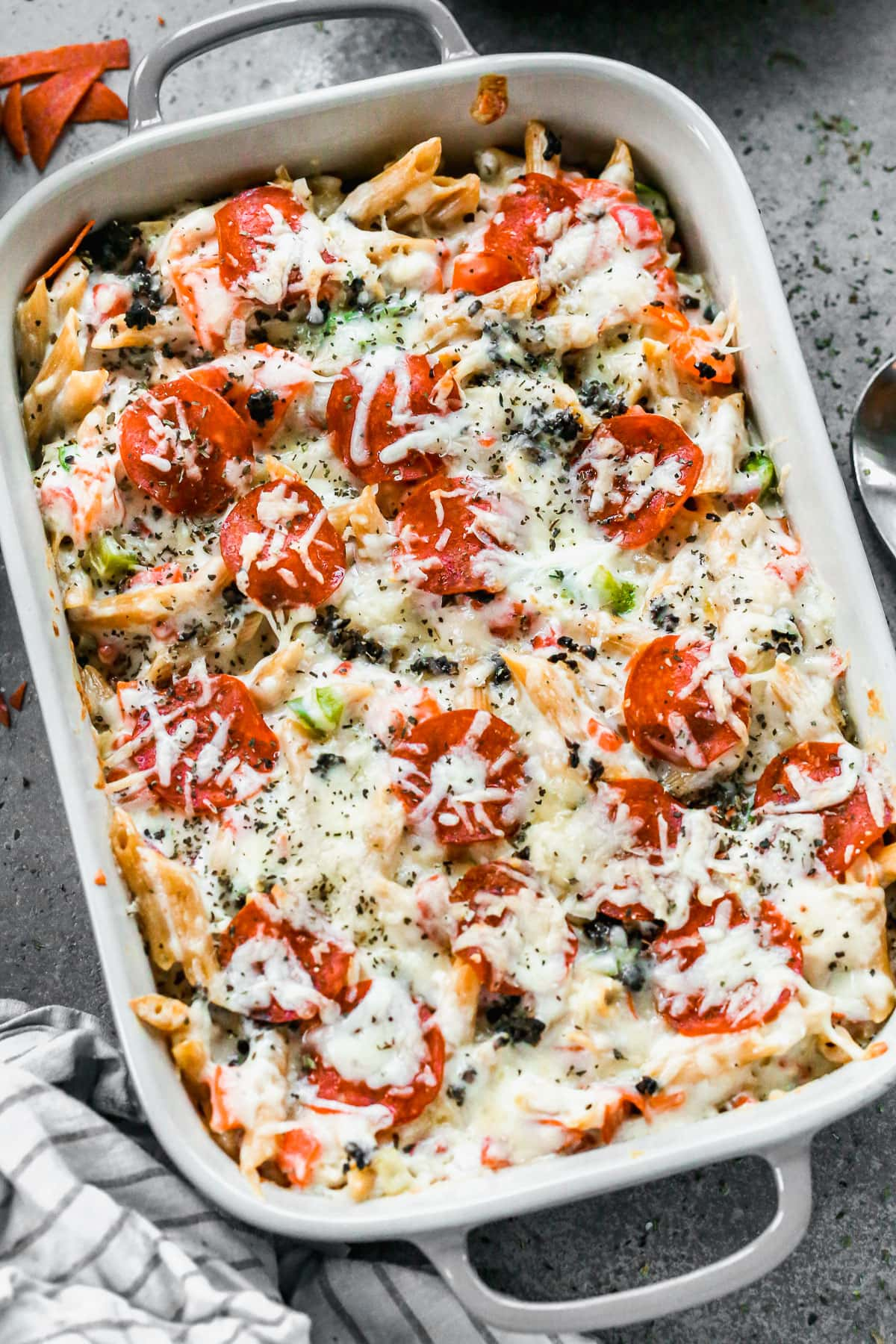 Spicy Pizza Mac and Cheese. A gourmet mac and cheese recipe your entire family will love!