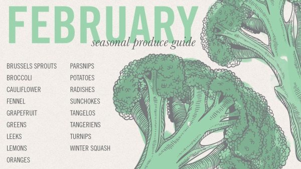 February Seasonal Produce