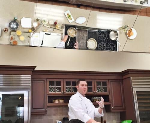 Chef Matt at Kohler Demo Kitchen