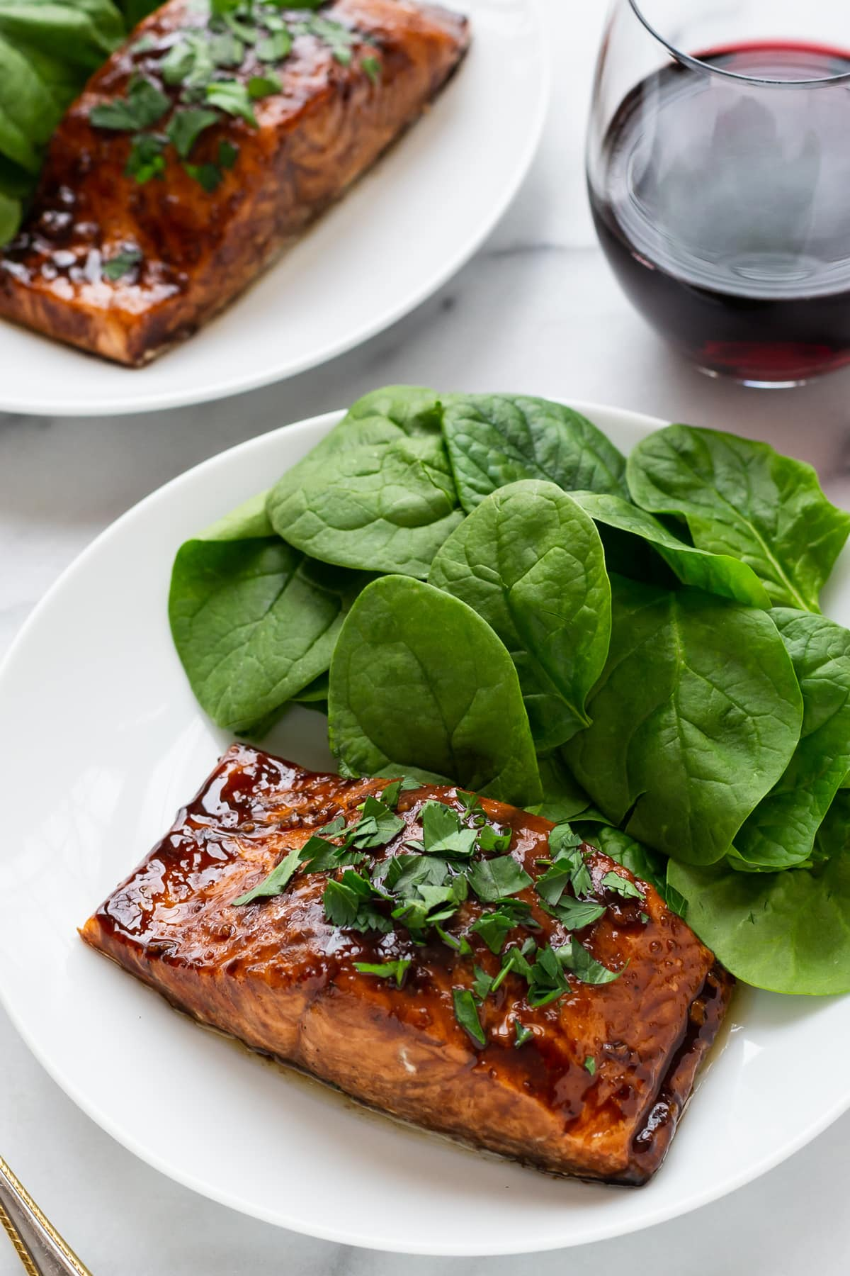 Bro's Balsamic Glazed Salmon: a Guest Post from Ben