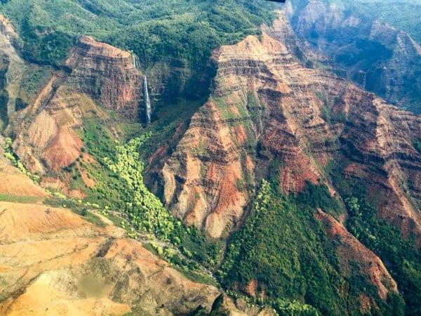 Jurrassic Falls from Plane