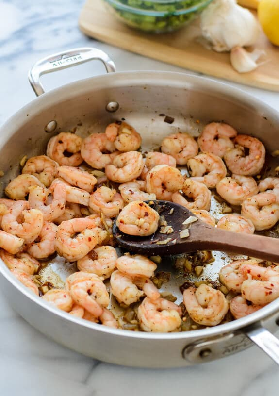 Quick and Easy Shrimp Pasta