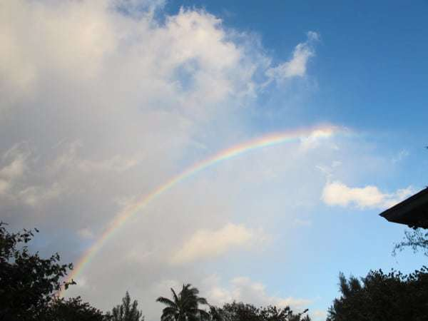 Rainbow in Kauai