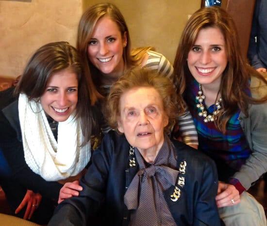 Sisters with Grandma