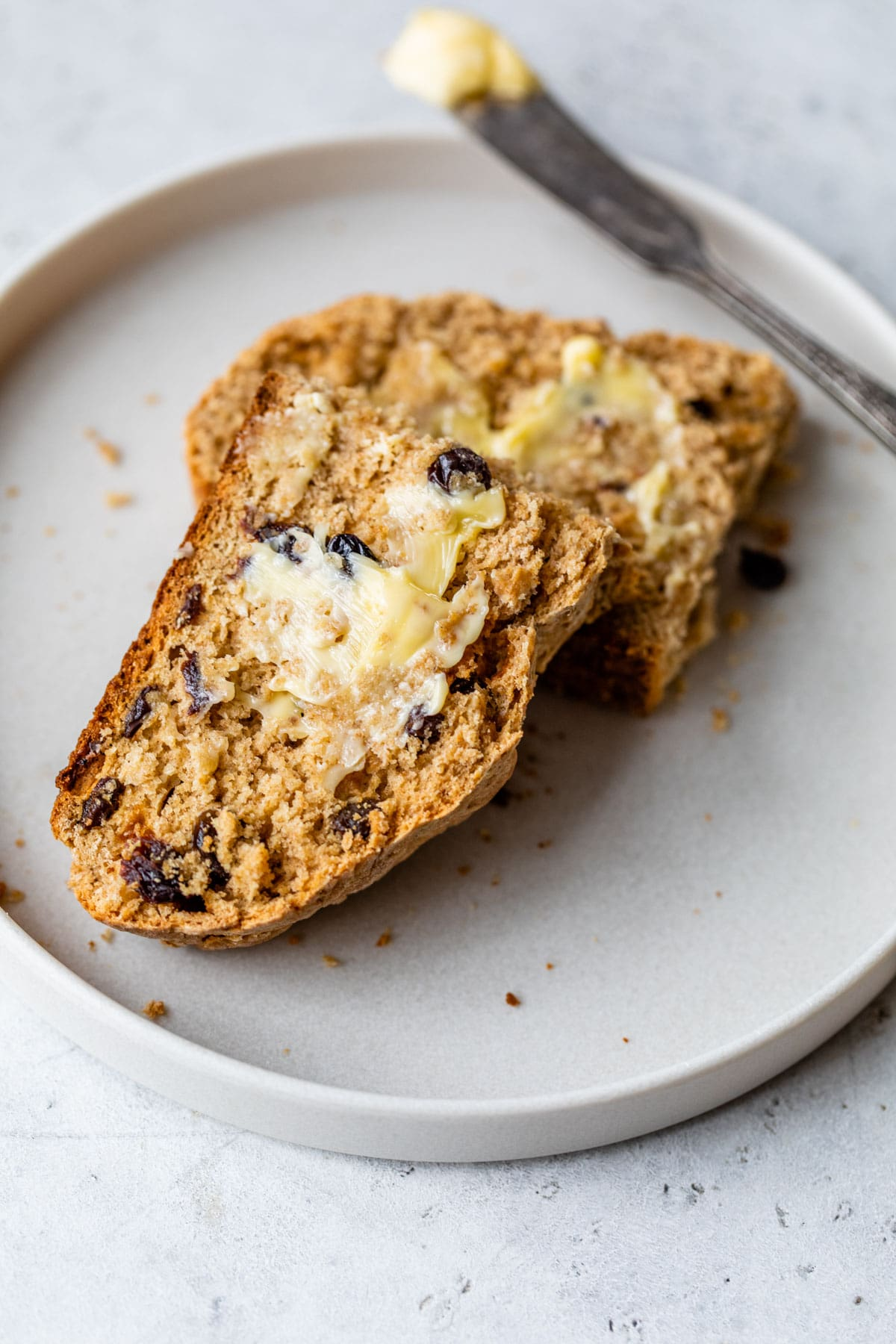 I make this Whole Wheat Irish Soda Bread every St. Patrick's Day. It's the best and easiest recipe!