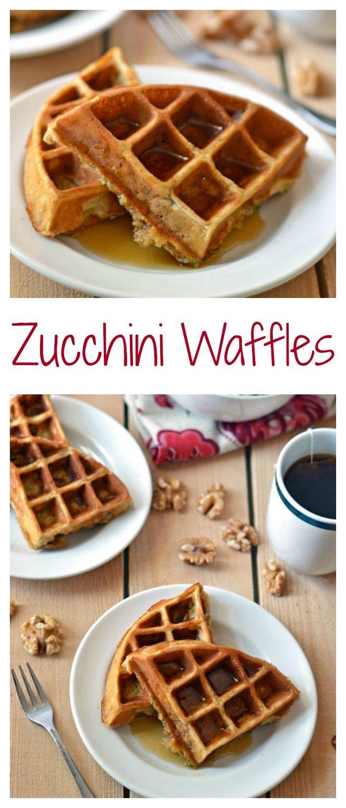 Zucchini Waffles // Well-Plated
