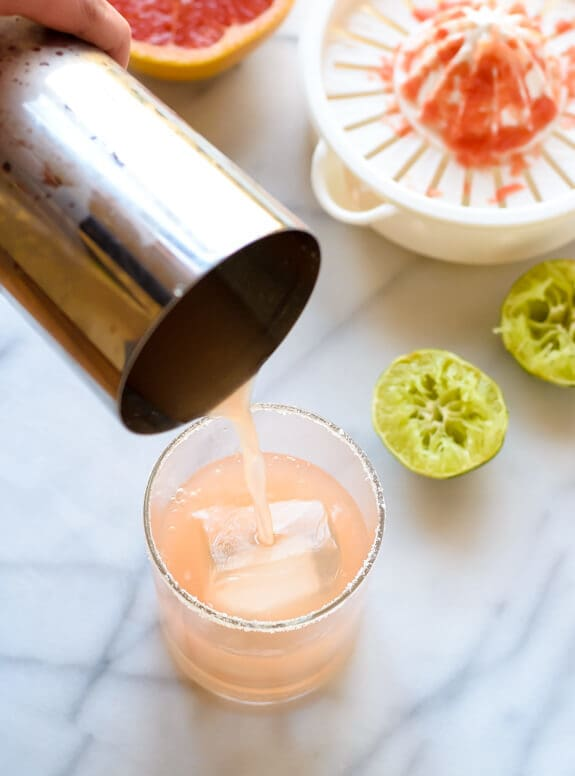 Grapefruit Margarita. Easy and perfect!