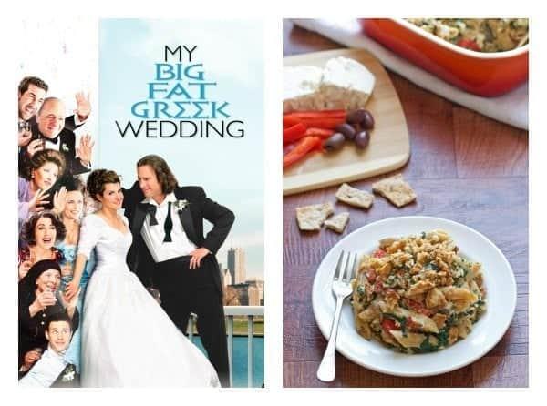 My Big Fat Greek Wedding Themed Date Night Menu