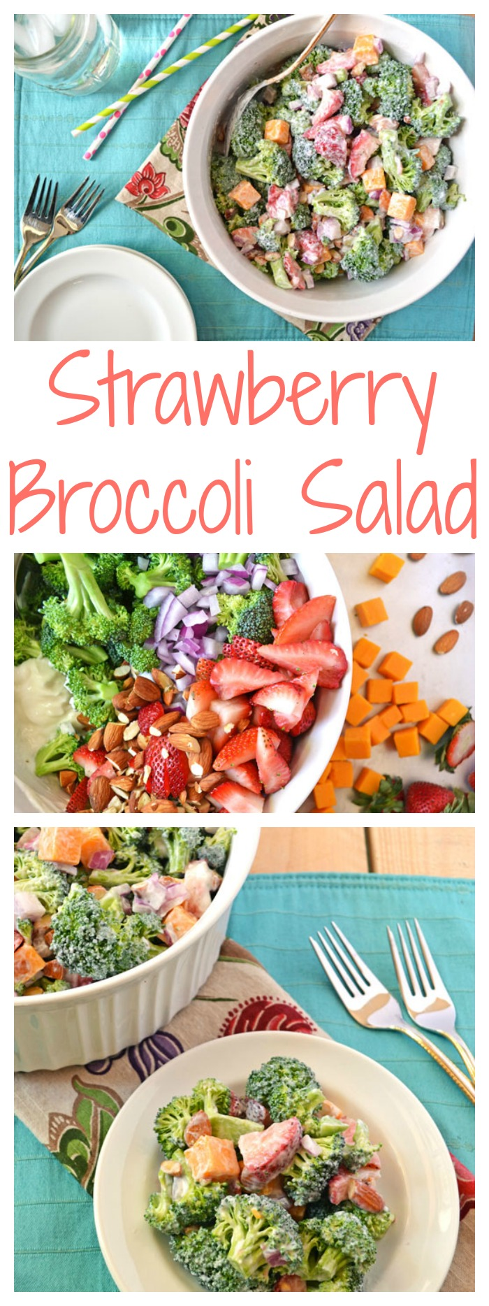 Strawberry Broccoli Salad // Well-Plated