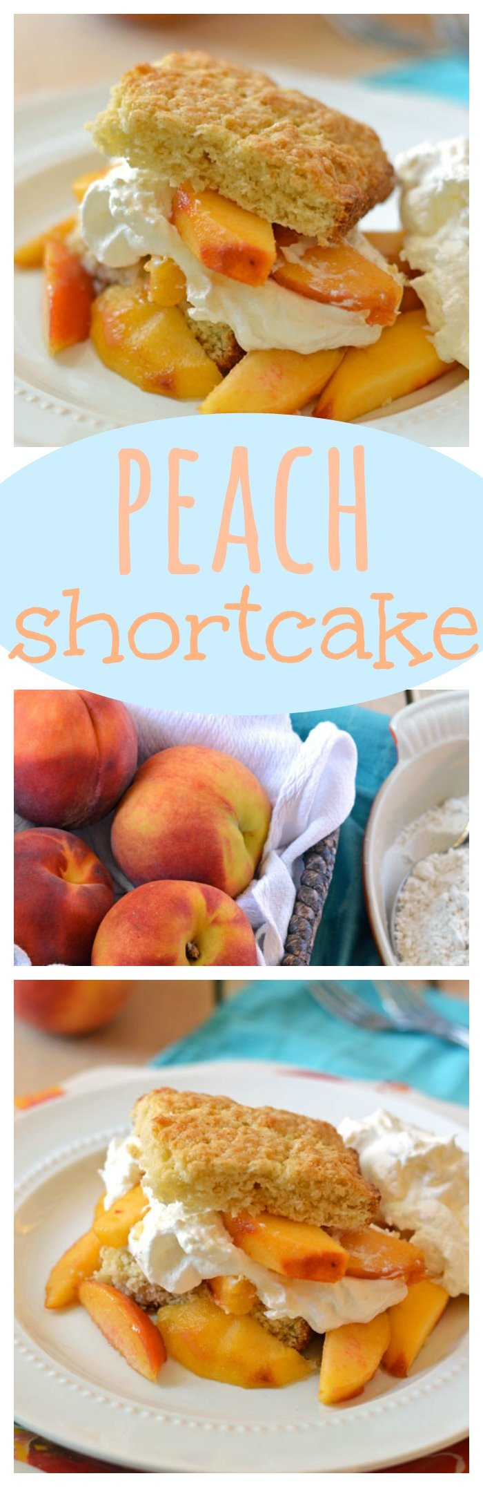Peach Shortcake // Well-Plated