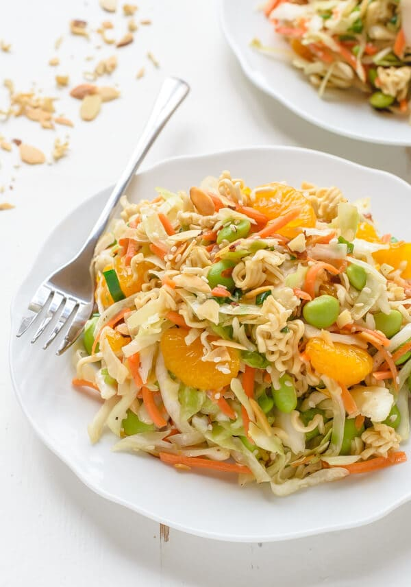 A skinny version of the Asian Ramen Salad that everyone loves!
