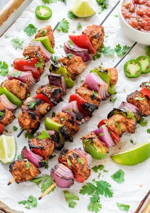 ... strawberry kabobs grilled chicken fajita kabobs chicken kabob recipe