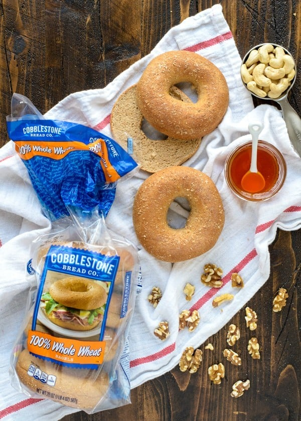Healthy Honey Walnut Tofu Cream Cheese. Perfect on bagels or with dip!
