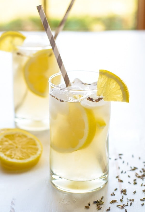 Lavender Lemonade. Easy, beautiful and refreshing!