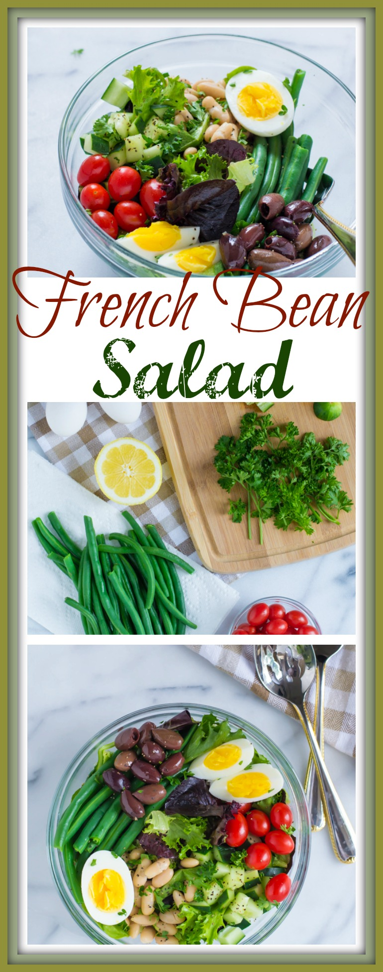 French Bean Salad // Well-Plated