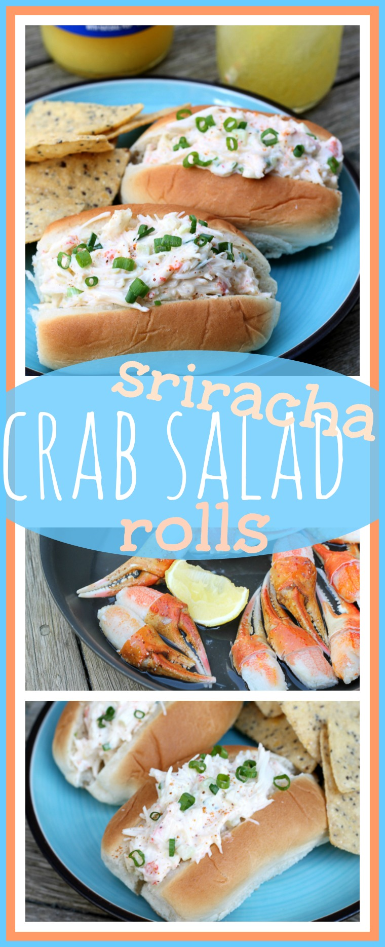 Sriracha Crab Salad Rolls // Well-Plated