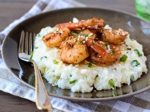 15 Minute Cajun Shrimp and Grits