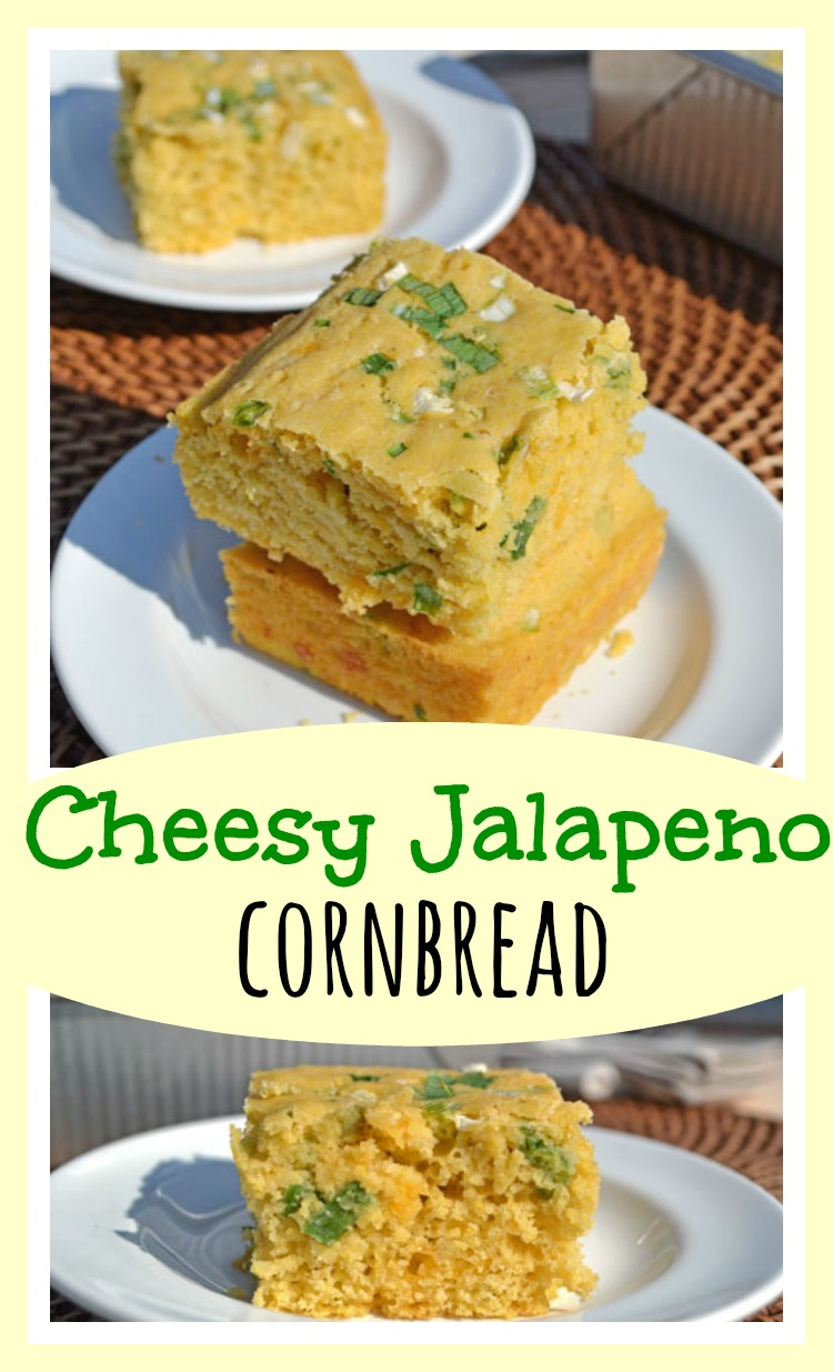 Cheesy Jalapeno Cornbread // Well-Plated