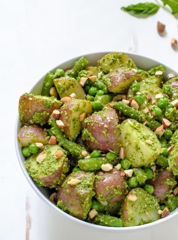 Summer Pesto Potato Salad