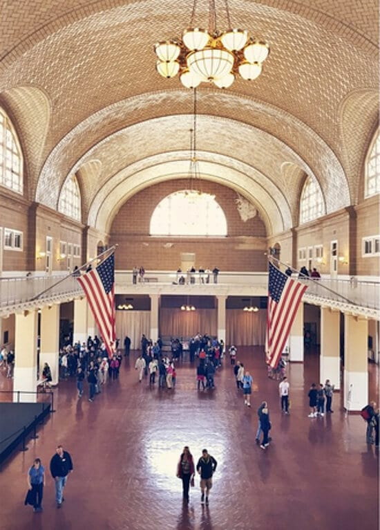 The Immigration Museum at Ellis Island