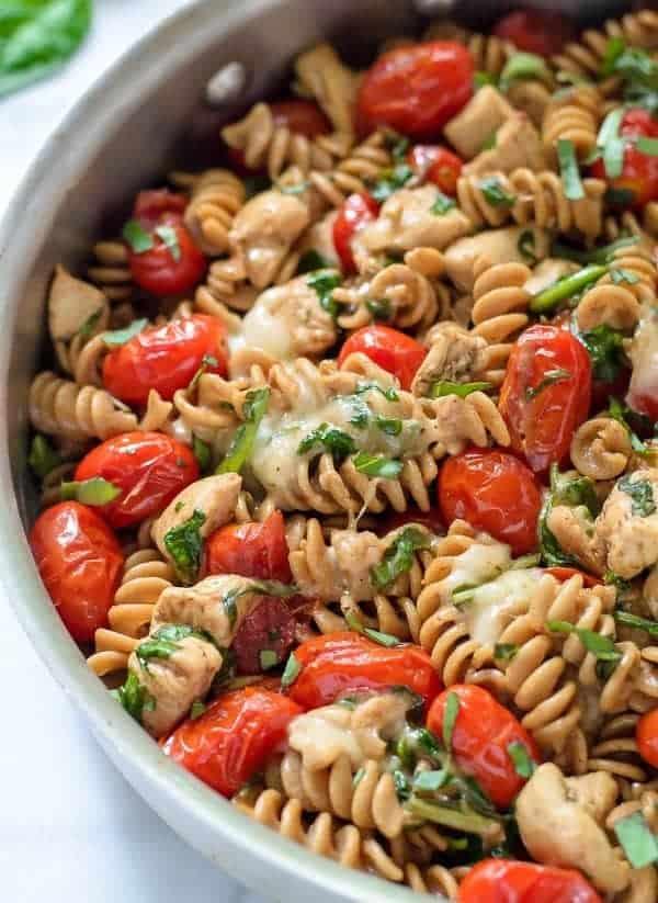 Leftover chicken pasta recipes easy