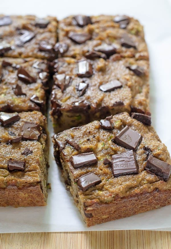 Chocolate Chip Paleo Zucchini Bread. Grain free, dairy free, and naturally sweetened! Ultra moist, made with coconut flour, banana, and loaded with chocolate chips. Even if you aren't following a Paleo diet, you'll love this clean, low carb chocolate zucchini bread recipe! It's the BEST. Recipe at wellplated.com | @wellplated
