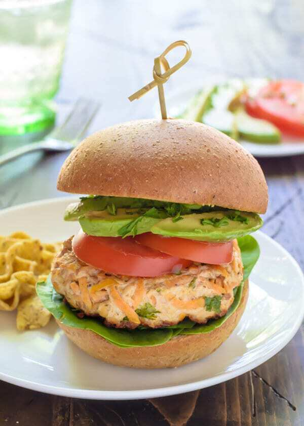 Paleo Sweet Potato Turkey Burgers with Chipotle and Avocado. Easy to make and freeze ahead!