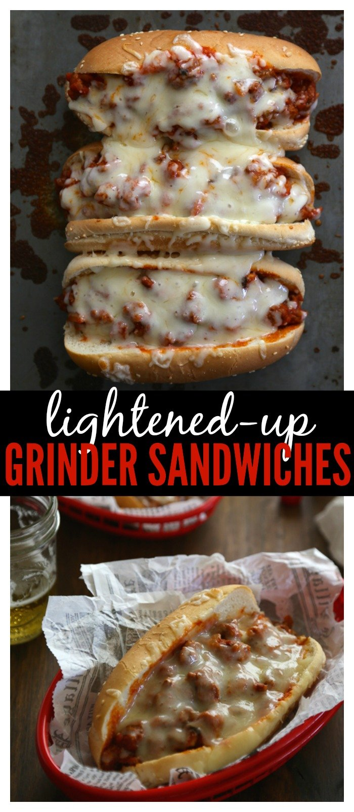 Lightened-Up Grinder Sandwiches // Well-Plated