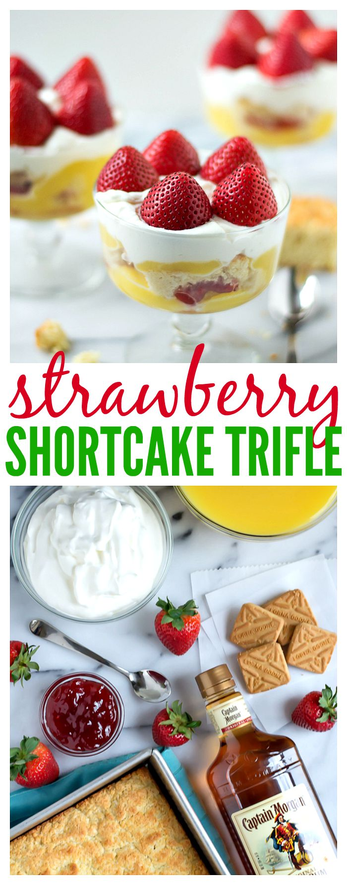 Strawberry Shortcake Trifle // Well-Plated