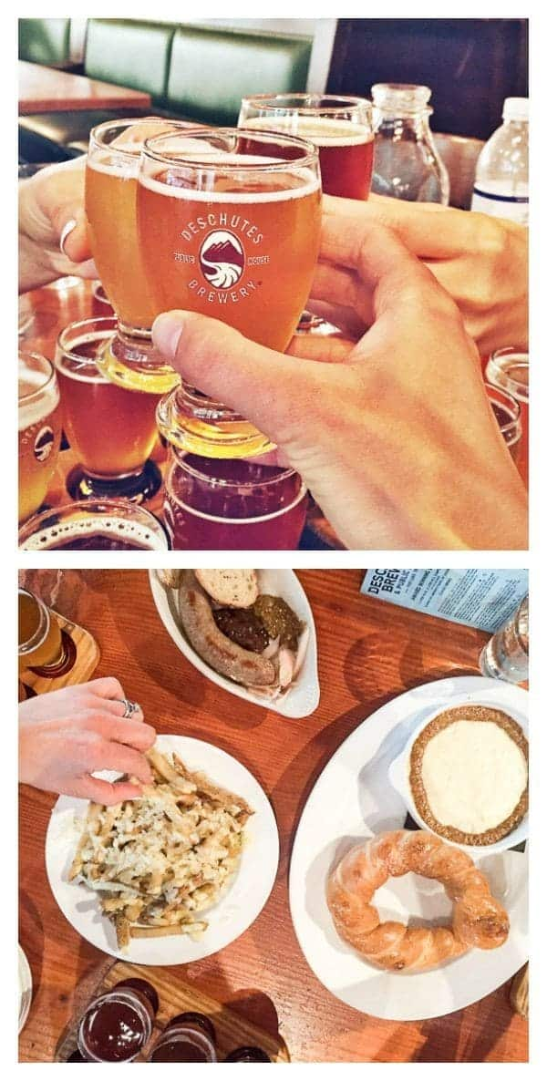 Descutes Brewery Tasting