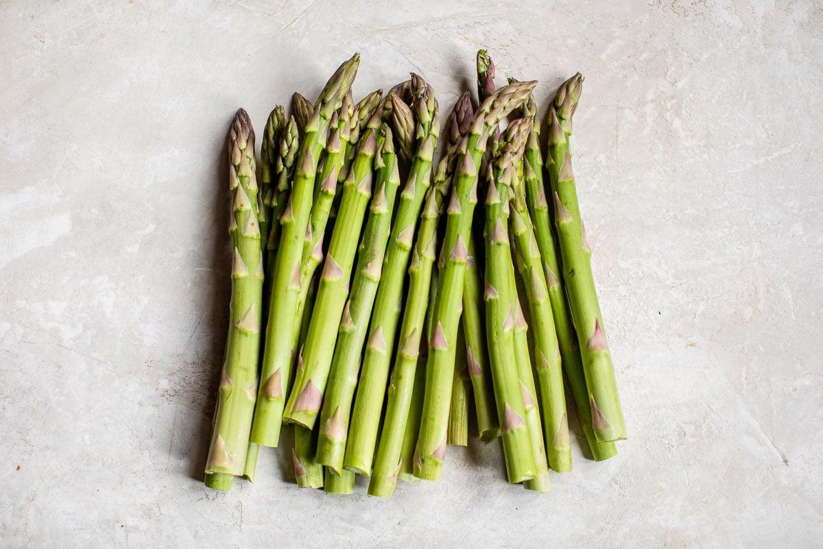 Lanzas de vegetales verdes