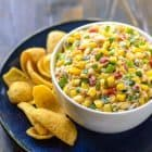 Easy, addictive Mexican corn dip