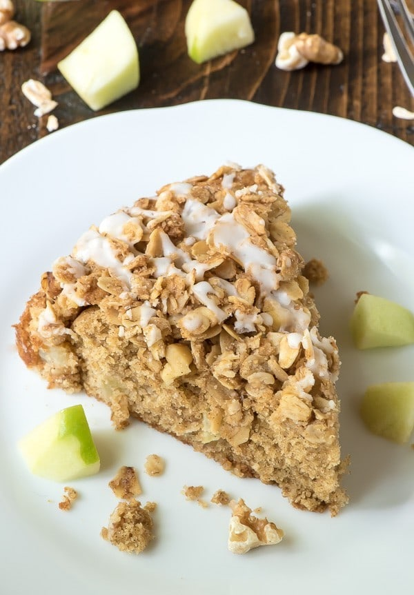 Classic Apple Coffee Cake with Cinnamon Streusel Topping